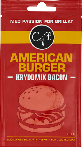American Burger Kryddmix Bacon