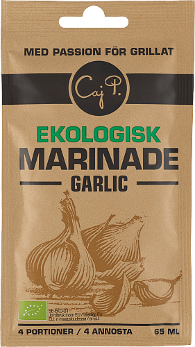 Marinad Garlic Ekologisk
